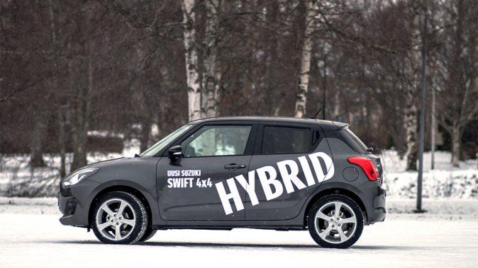 Suzuki Swift 4X4 Hybrid pääkuva
